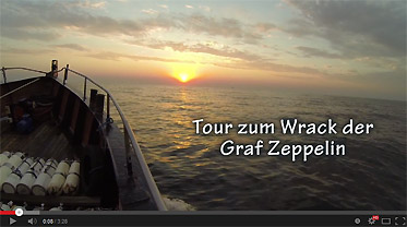 video der woche wracktauchen an der graf zeppelin. Black Bedroom Furniture Sets. Home Design Ideas