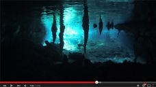 Screenshot: Video der Woche: Diving with friends in the Cenotes